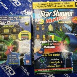 Новогодний декор и аксессуары - Лазерный звездный новогодний проектор star shower laser light projector, 0