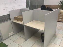 Мебель для учреждений - Офисные столы с перегородками , 0