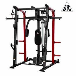 Другие тренажеры для силовых тренировок - Силовой тренажер со скамьей и опциями DFC 8500 , 0
