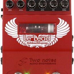 Звуковые карты - Two Notes Le Lead гитарный предусилитель, 0