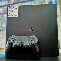 Игровые приставки - PlayStation 4 Slim 1tb б.у, 0