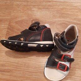 Обувь для малышей - Новые кожаные сандалии Totto 21 р-р, 0