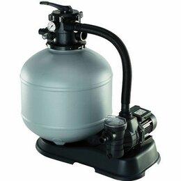 Фильтры, насосы и хлоргенераторы - Песочный фильтр с насосом для бассейна, 0