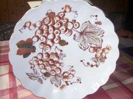 Посуда - БОЛЬШОЕ блюдо из сервиза Золотая осень, 0