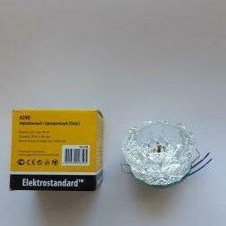 Встраиваемые светильники -  Точечный светильник (6240 G9) (Clear), 0