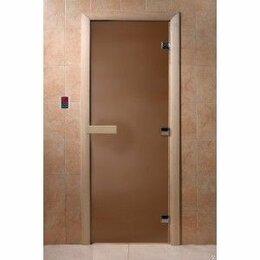 Двери - Стеклянная дверь Бронза матовая DoorWood, 0
