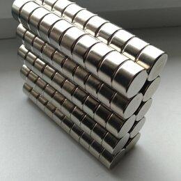 Магниты - Неодимовый магнит диск 18х10 мм., 0