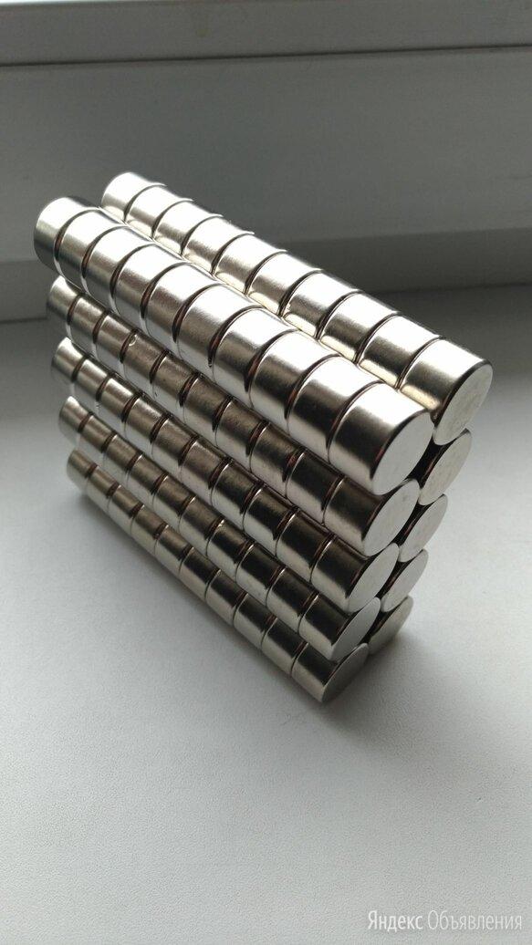 Неодимовый магнит диск 18х10 мм. по цене 100₽ - Магниты, фото 0