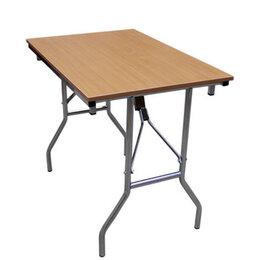 Столы и столики - стол складной ДЕЛЬТА 900х600мм бук ЛДСП/металл, 0
