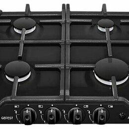 Плиты и варочные панели - Поверхность газовая Gefest ПВГ 1212-01 К2 эмаль, 0