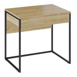 Компьютерные и письменные столы - Лофт Стол компьютерный тип 1 (Черный/Бунратти), 0