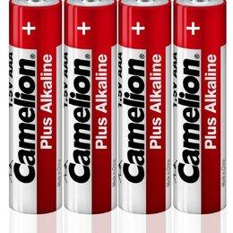 Батарейки - Элемент питания алкалиновый LR6 LR6-SP4 (уп.4шт) Camelion 12554, 0