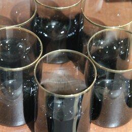 Бокалы и стаканы - Стаканы Moser, Чехия 6шт, 0