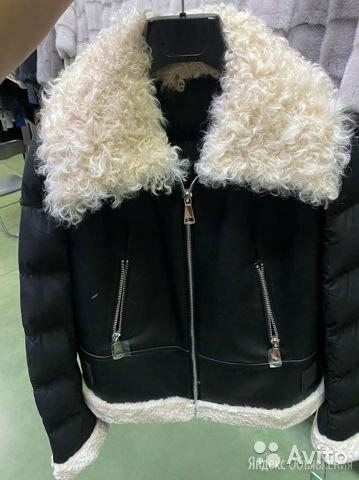 Куртка мужская кожаная зима по цене 5500₽ - Куртки, фото 0