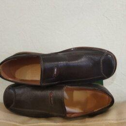 Туфли - Мужские кожаные туфли, 0