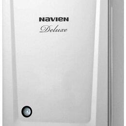 Отопительные котлы - Газовый котел Navien deluxe с 24k двухконтурный, 0
