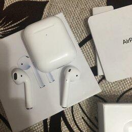 Наушники и Bluetooth-гарнитуры - airpods 2 оригинал, 0