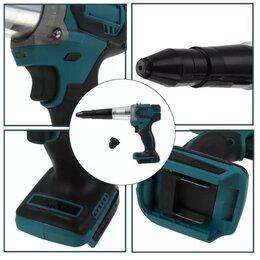 Аккумуляторные и электрические заклепочники - Пистолет заклепочный аккумуляторный, 0