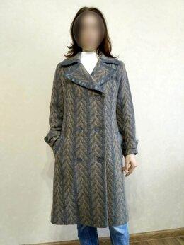 Пальто - Тёплое шерстяное пальто, размер М, 0