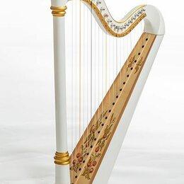 Щипковые инструменты - Resonance Harps Capris Арфа 21 струнная (A4-G1) цвет белый глянцевый, 0