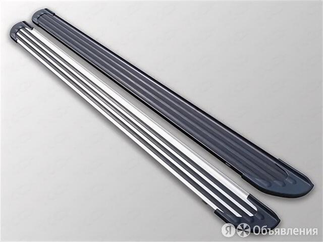 Пороги алюминиевые Slim Line Black 1820 мм Toyota VENZA 2013 - 2016 г.в. от Т... по цене 14990₽ - Кузовные запчасти , фото 0