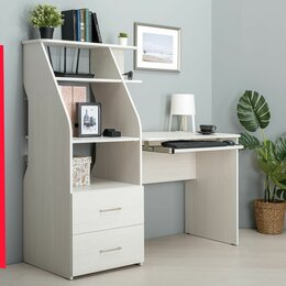 Компьютерные и письменные столы - Стол компьютерный Комфорт 12.68, 0