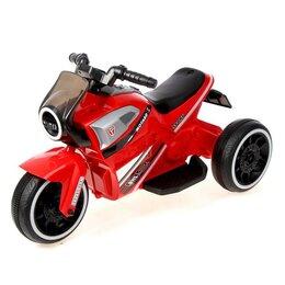 Электромобили - Электромотоцикл «Техно», цвет красный, 0