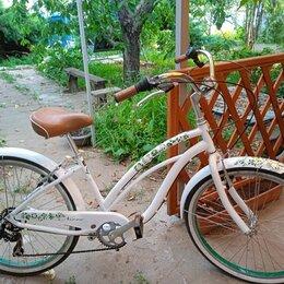 Велосипеды - Велосипед круизер Nirve Белый лебедь, 0