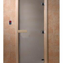 Двери - Стеклянная дверь Сатин DoorWood, 0