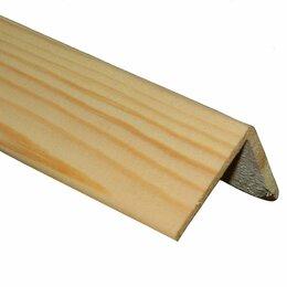 Отделочный профиль, уголки - Уголок деревянный 27х27 мм, 0
