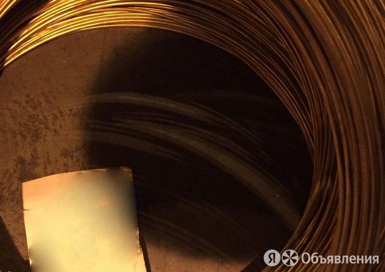 Проволока бронзовая 3 мм БрНЦр ГОСТ 16130-90 по цене 1273₽ - Металлопрокат, фото 0