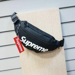 Сумки - Поясная сумка supreme новая, 0