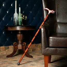 Зонты и трости - Трость сувенирная 97 см, рукоять дракон, темная, 0