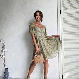 Платья - Летнее платье 44-46, 0