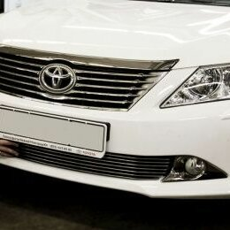 Кузовные запчасти - Декоративная решетка в бампер для Toyota Camry V50, 0
