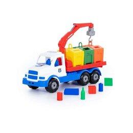 Торговля - Автомобиль-контейнеровоз «Сталкер», цвет бело-синий, 0