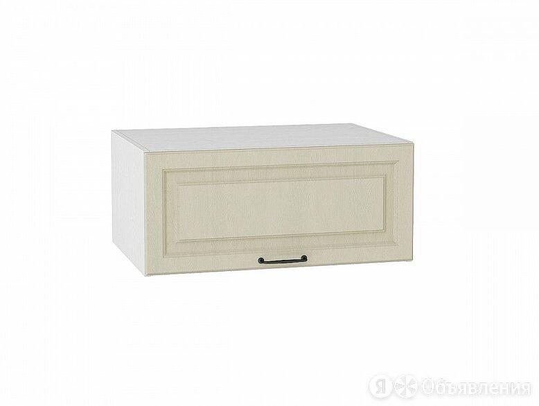 Шкаф верхний горизонтальный с увеличенной глубиной Ницца ВГ 810 Дуб крем-Белый по цене 3584₽ - Мебель для кухни, фото 0
