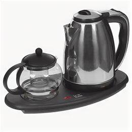 Чайники - Чайник  электрический Мощность1500Вт, 1,5л и заварочный чайник  IR-1502, 0