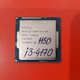 Процессоры (CPU) - Процессор Core i3-4170 4160 4130 (Socket 1150), 0