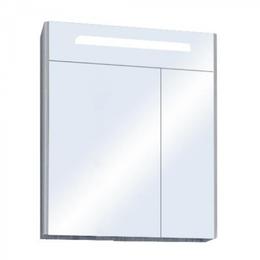 Кровати - Зеркальный шкаф Акватон Сильва 60 1A216202SIW60 дуб фьорд, 0