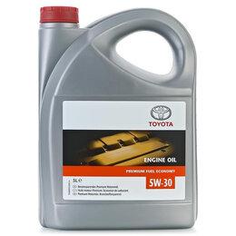 Масла, технические жидкости и химия - Масло моторное TOYOTA  5W-30, 5L (пласт. упак), 0