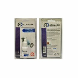 Изоляционные материалы - Анаэробный клей-герметик AQUALINK Разборный 10г в блистере, 0