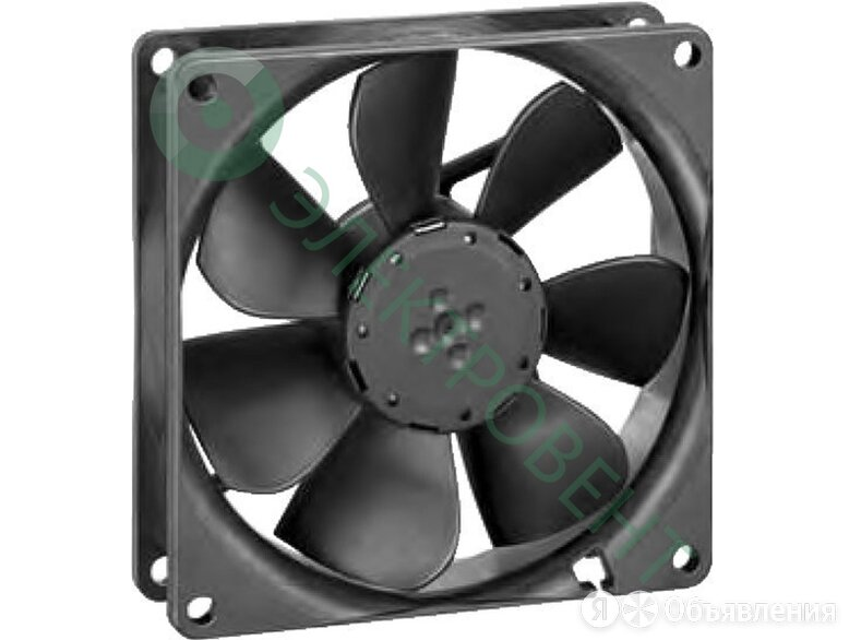 Вентилятор Ebmpapst 3412NGH 92x92x25 DC осевой по цене 3031₽ - Вентиляция, фото 0