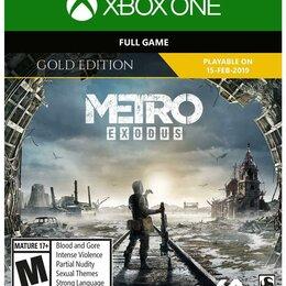 Игры для приставок и ПК - Metro exodus gold edition (xbox one), 0