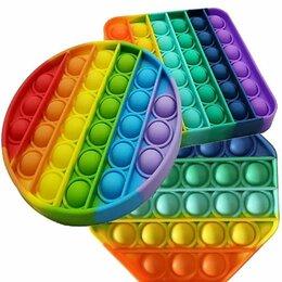 Игрушки-антистресс - Pop it / Игрушка антистресс круг,квадрат, восьмиугольник/октагон/, 0