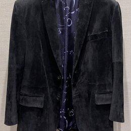 Пиджаки - Brioni замшевый пиджак оригинал размер 54, 0