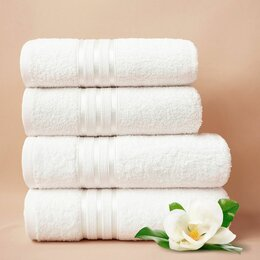 Полотенца - Набор из 4 полотенец Harmonika цвет: белоснежный, 0