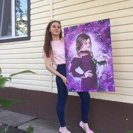 Картины, постеры, гобелены, панно - Портрет по фото на холсте, 0