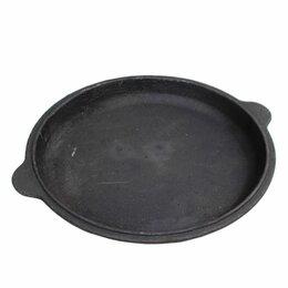 Крышки и колпаки - Чугунная крышка сковорода на 10л, 0