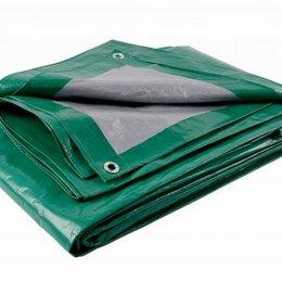 Тенты строительные - Тент строительный тарпаулин 10х12м 120г/м.кв зел-серебр., 0